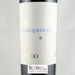 Tagaro - CINQUENOCI Primitivo Rosso Puglia IGT 2015