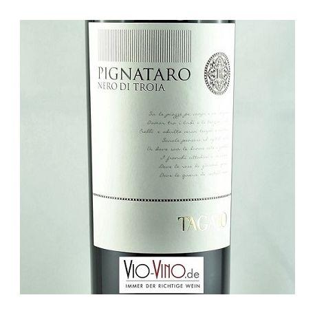 Tagaro - PIGNATARO Nero di Troia Rosso Puglia IGT 2014