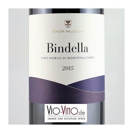 Tenuta Vallocaia Bindella - Vino Nobile di Montepulciano BINDELLA DOCG 2015