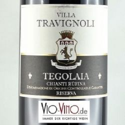Villa Travignoli - Chianti Rufina Riserva TEGOLAIA DOCG 2014