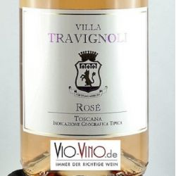 Villa Travignoli - Toscana Rose IGT 2016