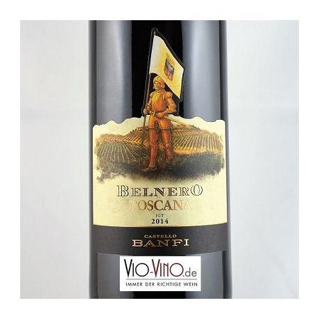 Castello Banfi - Toscana Rosso BELNERO IGT 2014