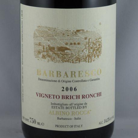 Albino Rocca - Barbaresco Vigneto Brich Ronchi 2006