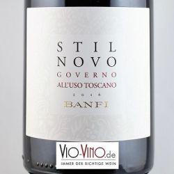 Castello Banfi - Toscana Rosso STIL NOVO GOVERNO ALL' USO IGT 2016