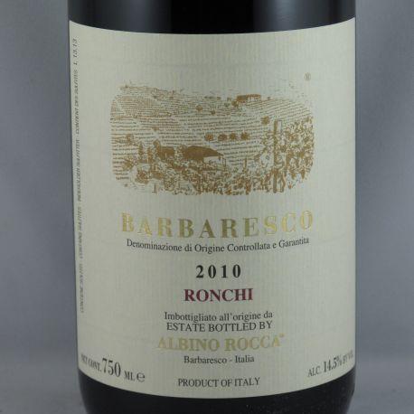 Albino Rocca - Barbaresco Vigneto Brich Ronchi 2010