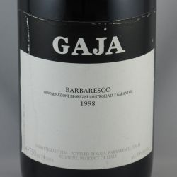 Angelo Gaja - Barbaresco DOCG 1998