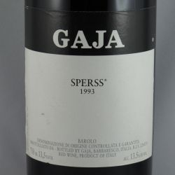 Angelo Gaja - Barolo SPERSS DOCG 1993