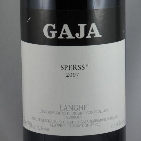 Angelo Gaja - Langhe Nebbiolo SPERSS DOC 2007