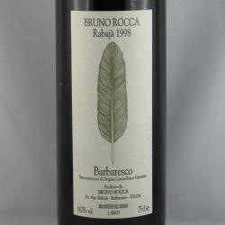Bruno Rocca - Barbaresco RABAJA DOCG 1998