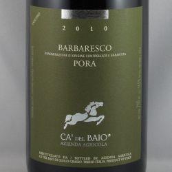 Ca' del Baio - Barbaresco PORA DOCG 2010