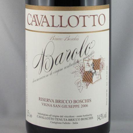 Cavalotto Fratelli - Barolo Riserva BRICCO BOSCHIS DOCG 2006 Magnum