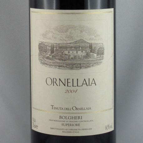 Ornellaia - Ornellaia Bolgheri Rosso Superiore IGT 2004