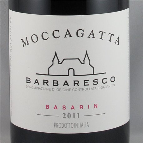 Moccagatta - Barbaresco Basarin DOCG 2011