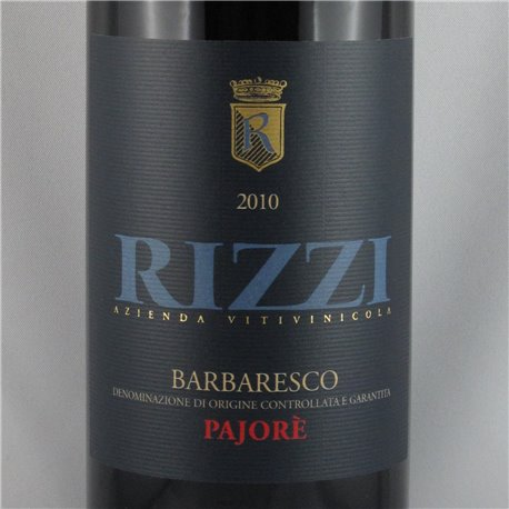 Rizzi - Barbaresco PAJORE DOCG 2010