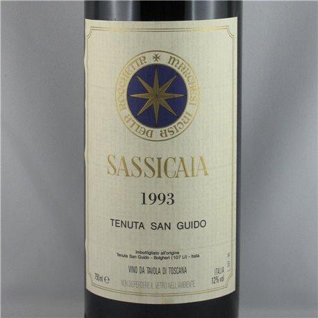 Tenuta San Guido - Sassicaia Bolgheri VdT 1993