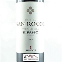 Tedeschi - Valpolicella Classico Superiore Ripasso CAPITEL SAN ROCCA DOC 2018