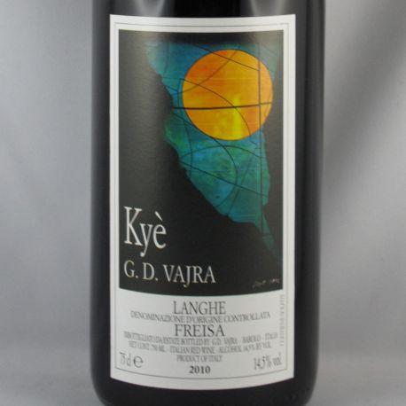 G.D. Vajra - KYE Langhe Freisa DOC 2010