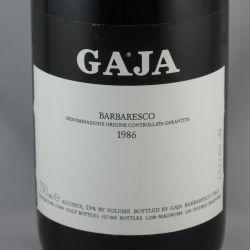 Angelo Gaja - Barbaresco DOCG 1986