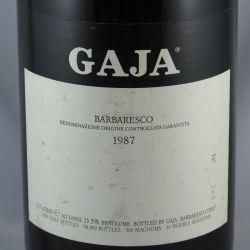 Angelo Gaja - Barbaresco DOCG 1987 Magnum