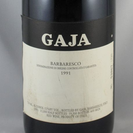 Angelo Gaja - Barbaresco DOCG 1991