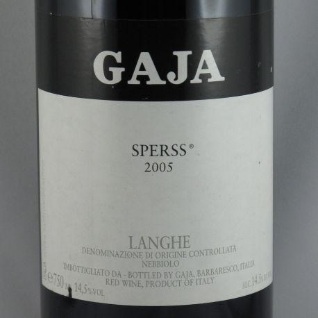 Angelo Gaja - Langhe Nebbiolo SPERSS DOC 2005