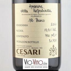Gerardo Cesari - Amarone della Valpolicella Classico IL BOSCO DOCG 2011
