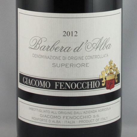Giacomo Fenocchio - Barbera d'Alba Superiore DOC 2012