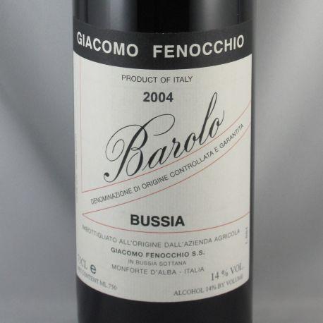 Giacomo Fenocchio - Barolo Bussia DOCG 2004