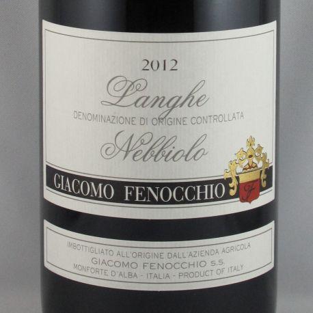 Giacomo Fenocchio - Langhe Nebbiolo DOC 2012