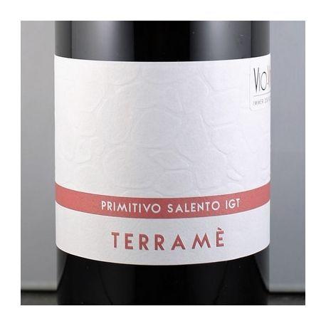 Giustini - TERRAME Primitivo Salento IGT 2015