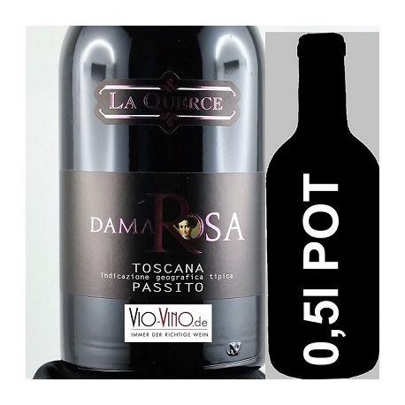 La Querce - DAMA ROSA Passito IGP 2011 - Pot 0,5l