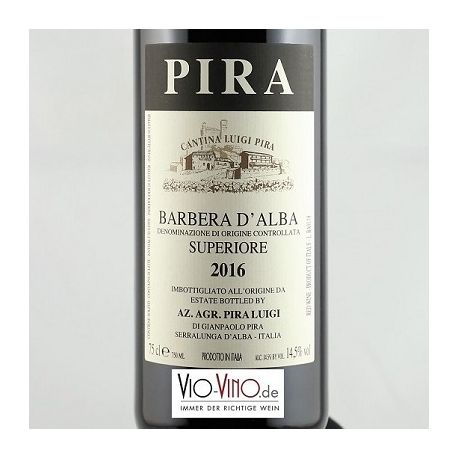 Luigi Pira - Barbera d'Alba Superiore DOC 2016