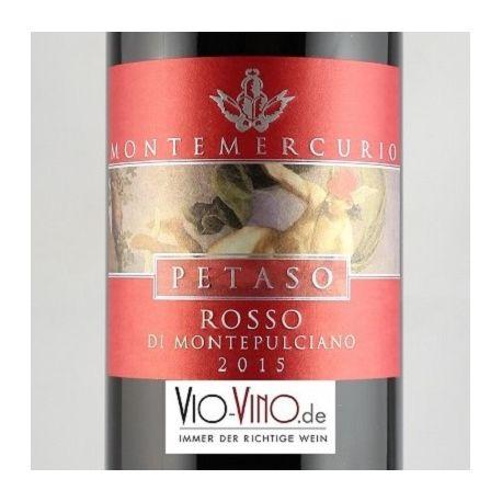 Montemercurio - Rosso di Montepulciano PETASO DOC 2015